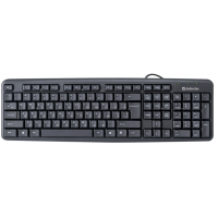 Клавиатура DEFENDER (45529)Element HB-520 USB UKR черная