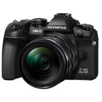 Цифровая камера OLYMPUS E-M1 mark III 12-40 Kit черный