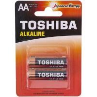 Батарейка TOSHIBA LR6 Economy Alkaline BP 1X2
