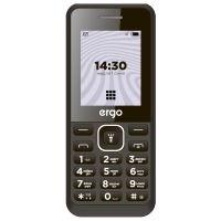 Мобильный телефон ERGO B181 Dual Sim (black)