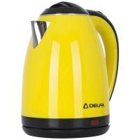 Чайник DELFA DK 3520 X желтый
