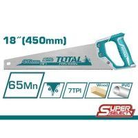 Ножовка TOTAL THT55450 7 зубьев на дюйм, длина 450мм.