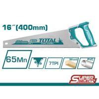 Ножовка TOTAL THT55400 7 зубьев на дюйм, длина 400 мм.