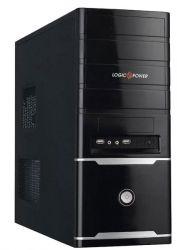 "Корпус Logicpower 0055 Black / 400W 80mm 1xSata / ATX, mATX, Flex-ATX Midi-Tower / 2xUSB2.0, Audio / 4x5,25"", 1x3,5"", 5xHDD, 7xPCI / airduct"