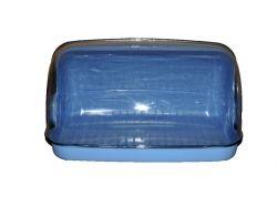 Хлібниця пластикова маленька 330*255*175мм блакитна ТМ КОНСЕНСУС