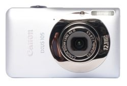 Canon PowerShot IXUS 105 IS (SD1300 IS USA) Silver