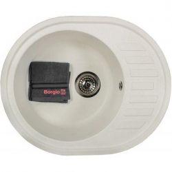 Кухонная мойка Borgio OVM 620x500 белый