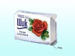 Мило 70 г (Червона троянда) ТМ ШИК