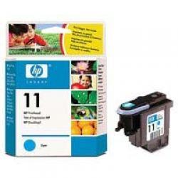 Печатающая головка HP №11 Cyan (DesignJ10ps/ 500/ 800) (C4811A)
