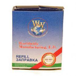 Лента к принтерам WWM 8мм х 1,8м Refill STD Black (R8.1.8HC)