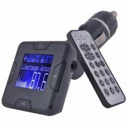 Автомобильный FM-трансмиттер Grand-X CUFM22GRX Black