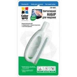 Набор портативный чистящий ColorWay, для TFT/LCD: корпус, с жидкостью и нано-салфеткой (CW-4805)