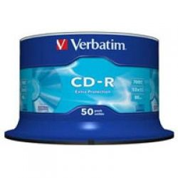 VERBATIM CD-R 700Mb 52x Cake 50 Extra 43351