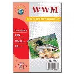 Бумага WWM 10x15 (G225.F20/ G225.F20/С)