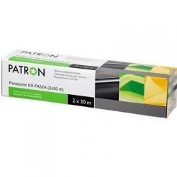 Пленка для факса PANASONIC KX-FA52A (2x30 м) PATRON (TF-PAN-KX-FA52A-PN)