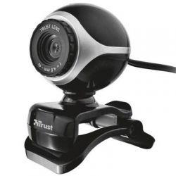 Веб-камера для компьютера Trust EXIS WEBCAM BLCK-SLVR 17003