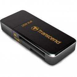 Card Reader внешний Transcend USB3.0 Single-Lun Reader,Black (TS-RDF5K)
