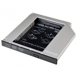 Фрейм-переходник Grand-X HDD 2.5'' to notebook ODD SATA/mSATA HDC-25 (HDC-25 /TITH5A)