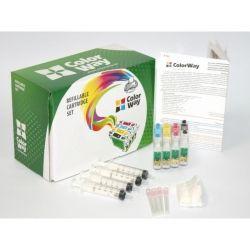 НПК ColorWay Epson XP313/413/103/203, с чипами, 4x100 г чернил (XP313RC-4.1)