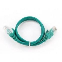 Патч-корд 0.25 м, UTP, Green, Cablexpert, литой, RJ45, кат.5е / PP12-0.25M/G