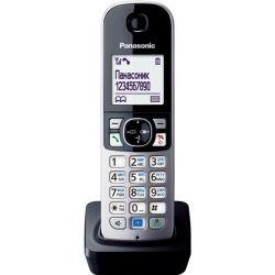 Додадкова слухавка (чорна) KX-TGA681RUB PANASONIC KX-TGA681RUB