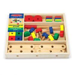 Развивающая игрушка Melissa&Doug Деревянный строительный конструктор (MD5151)