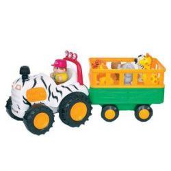 Развивающая игрушка Kiddieland Трактор Сафари (51169)