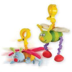 Игрушка на коляску Taf Toys Жужу: дрожащие бабочка и пчёлка (10555)