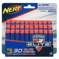 Игрушечное оружие Hasbro Нерф Патроны Элит, 30 шт (A0351)