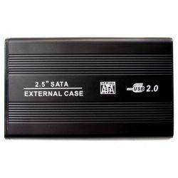 """Карман внешний 2,5"""" Grand-X USB 2.0, алюминий (HDE21)"""
