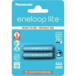 Аккумулятор R3 Panasonic Eneloop Lite BK-4LCCE/2BE, AAA/(HR03), 550mAh, LSD Ni-MH, блистер 2шт
