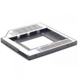 """Карман для ноутбука под 2.5"""" SSD/Sata винт (вместо привода) 9,5мм, Gembird MF-95-01"""