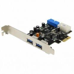 Контроллер PCI - USB 3.0 STLab U-780 4 канала (2вн.+2внутр.) NEC PCI-E
