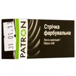 Лента к принтерам PATRON 8мм х 1,8м Black (к) (PN-8-1.8SB)
