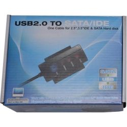 Конвертор USB to SATA & IDE Atcom (11205)