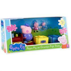 Игровой набор PEPPA Паровозик дедушки Пеппы (20829)