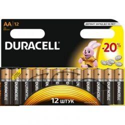 Батарейка Duracell AA MN1500 LR06 * 12 (5000394006546 / 81551275) - Картинка 1