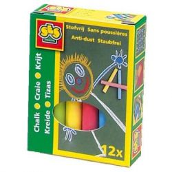 Набор для творчества SES Цветные мелки Малыш (12 цветов) (0201S)