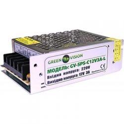 Импульсный блок питания Green Vision GV-SPS-T 12V3A-L