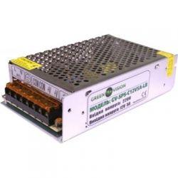 Импульсный блок питания Green Vision GV-SPS-C 12V5A-LS с клемами, под видеонаблюдения