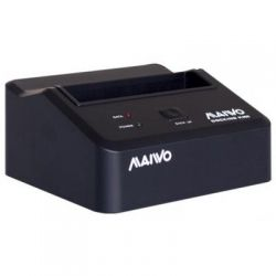 """Док-станция 2,5""""/3,5"""" Maiwo K300-U3S для HDD 2,5""""/3,5"""" SATA через USB2.0 пластик черн."""