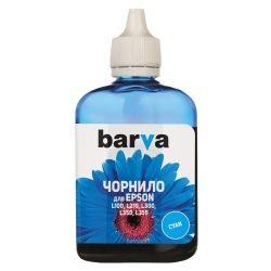 Чернила Barva Epson L100 / L110 / L120 / L200 / L210 / L300 / L350 / L355 / L550 / L555 / L1300, Cyan, 90 г (L100-400)