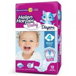 Подгузник Helen Harper Baby Maxi 7-18 кг 12 шт (2310570)