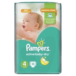 Подгузник Pampers Active Baby-Dry Maxі (8-14 кг), 13шт (4015400647546)