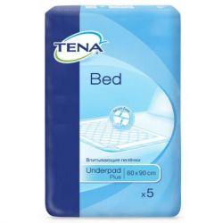 Пеленки для младенцев Tena Bed Normal 60х90 см 5 шт (7322540576382)