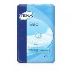 Пеленки для младенцев Tena Bed Plus 60х90 см 5 шт (7322540247879)