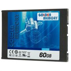 "Твердотельный накопитель 60Gb, Golden Memory G300, SATA3, 2.5"", MLC (AV60CGB)"