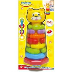 Развивающая игрушка BeBeLino Пирамидка Оригинальные кольца (57029)