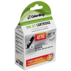 Картридж ColorWay CANON CLI-451 Grey PIXMA MG6340/7140 (CW-CLI-451G)