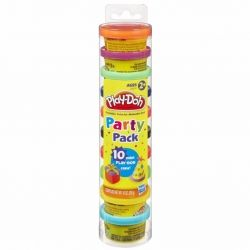Набор для творчества Hasbro Play-Doh Пластилин 10 баночек (22037)